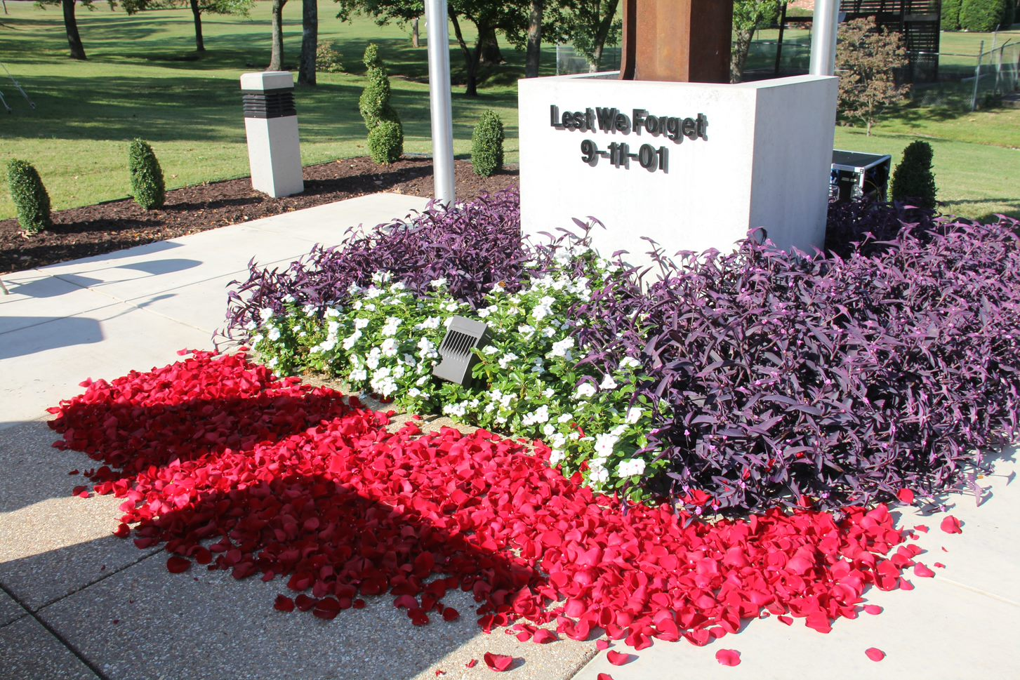 "September 11 ""Lest We Forget Memorial"""