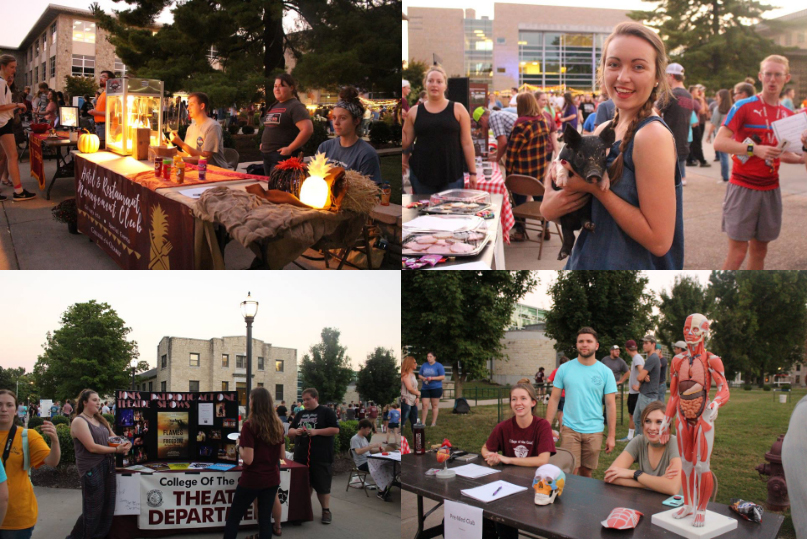 Fall Semester Club Fair at College of the Ozarks