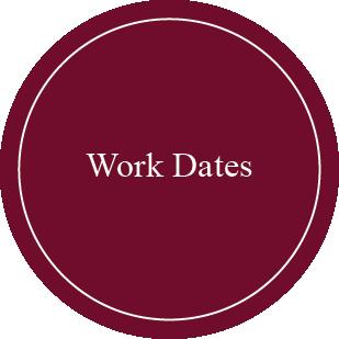 Work Dates