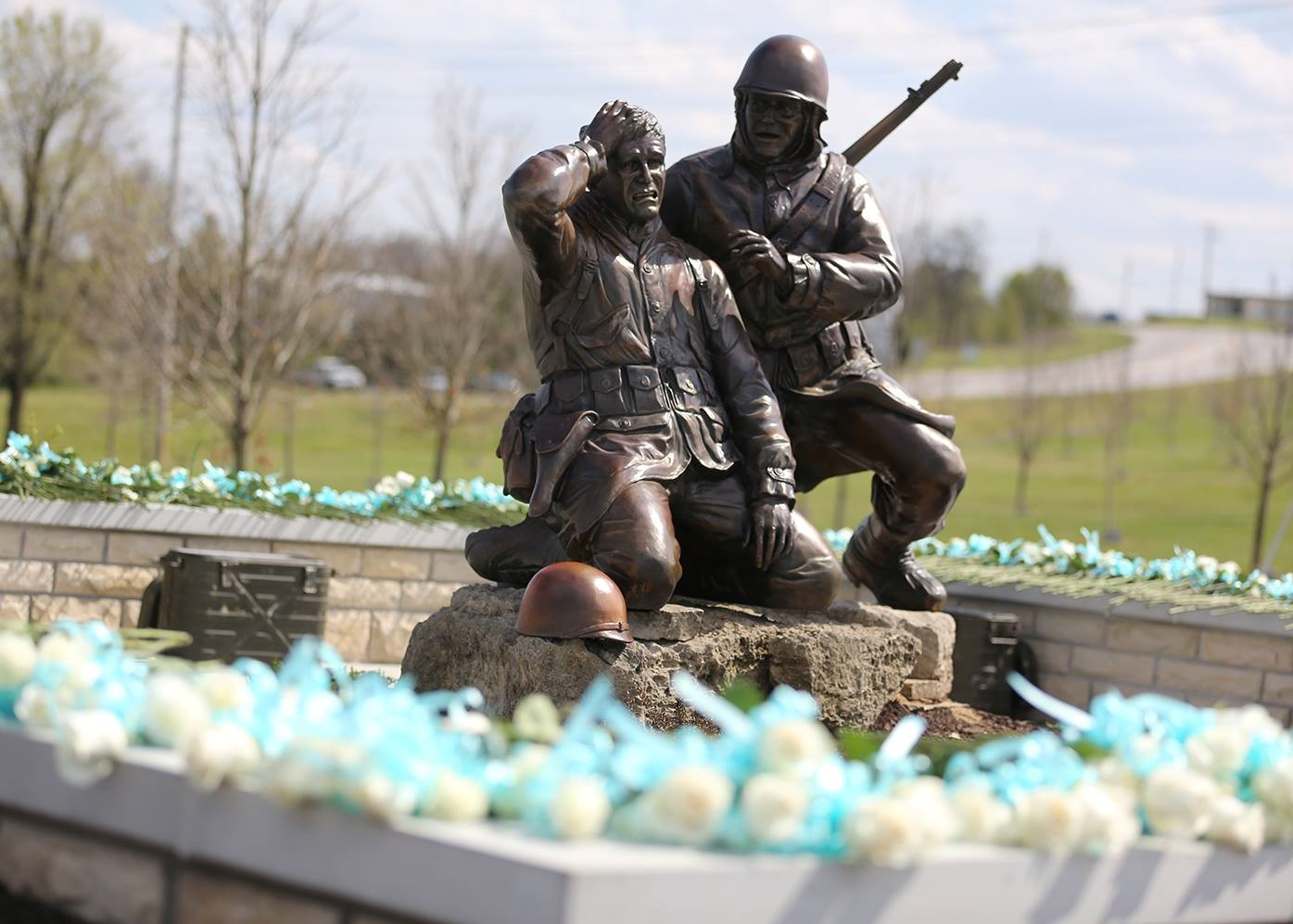 The Korean War Memorial at College of the Ozarks