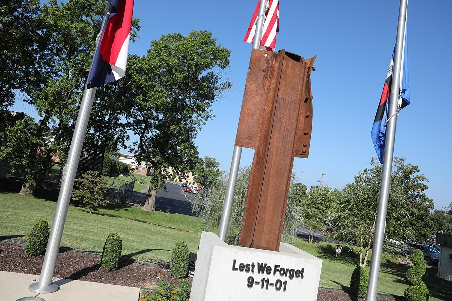 The Lest We Forget 9/11 Memorial at College of the Ozarks