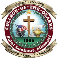 College of the Ozarks Seal.
