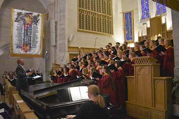 College of the Ozarks Chapel Choir, directed by Gregg Busch, will go to Hawaii for a six-day tour.