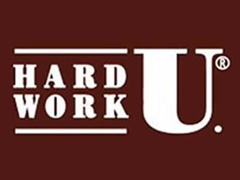 Hard Work U. Logo