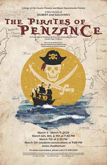 C of O performs Pirates of Penzance