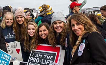 College of the Ozarks nursing students participate in March for Life in Washington, D.C.