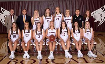 Team photo of Lady Bobcats