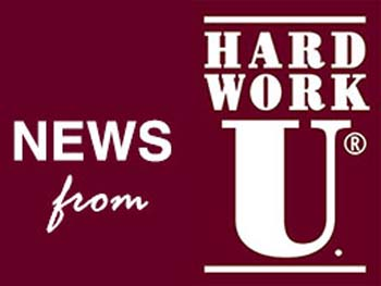 News from Hard Work U