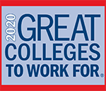 The Chronicle of Higher Education Award - Great Colleges to Work For